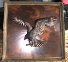 Eagle with brown foundation plate